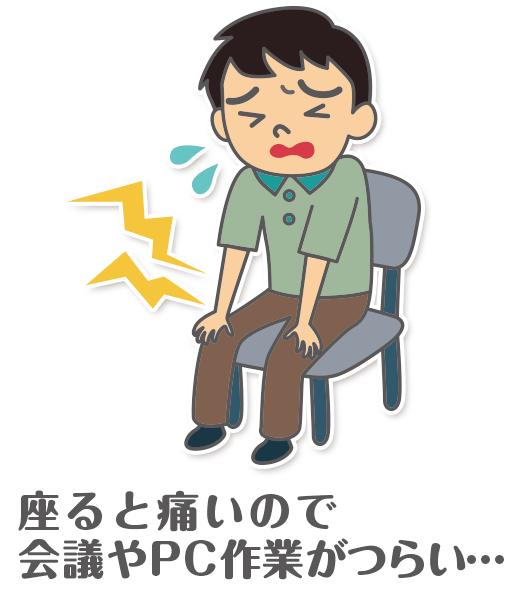 慢性前立腺炎の痛み